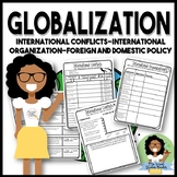 International Conflicts, International Organizations, Foreign & Domestic Policy