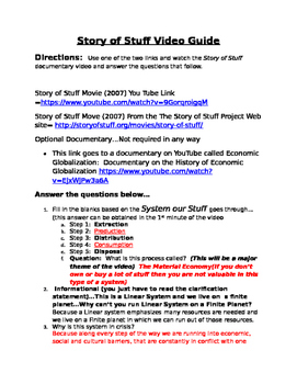 Globalization--Story of Stuff Video Guide