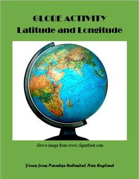 Globe Activity Latitude and Longitude Gr. 6-8