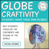 Earth Day Craft - Globe Model - Mapping