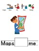 Globe/ Map Adapted Story