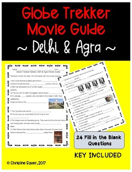 Globe Trekker Agra and Delhi Movie Guide