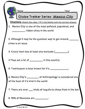 Globe Trekker Mexico City Movie Guide