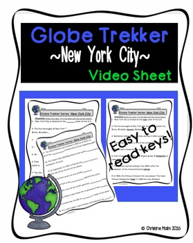 Globe Trekker New York City Movie Guide