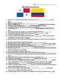 Globe Trekker Panama & Colombia viewing guide worksheet