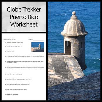 Globe Trekker Puerto Rico Video Worksheet
