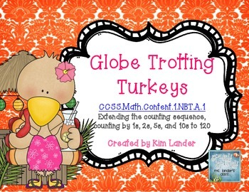 Globe Trotting Turkeys - practice extending the counting sequence
