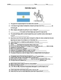 Globe Trekker Argentina viewing guide worksheet