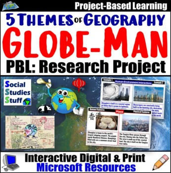 Globeman Project: The Five Themes of Geography (World Cities)