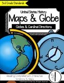 Maps & Globe: Globes & Cardinal Directions