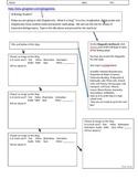 Glogster Activity Worksheet without registration