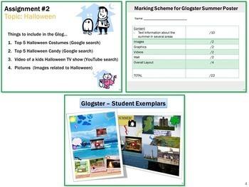 Glogster Interactive Multi-Media Posters Lesson Activity