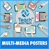 Create Multi-Media Posters Lesson Activity