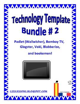 Technology Template Bundle #2!