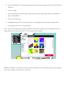 Glogster Teacher Guide and Student Handout