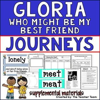 Gloria Who Might Be My Best Friend Journeys 2nd Grade Unit 5 Lesson 22