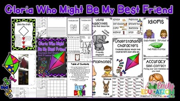 Gloria Who Might Be My Best Friend Supplement Materials Journeys 2nd Grade