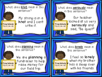 Gloria Who Might Be My Best Friend Task Cards for Houghton Mifflin Journeys