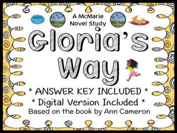 Gloria's Way (Ann Cameron) Novel Study / Reading Comprehension