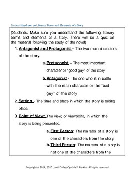 Gloria's Way Unit with Literary and Grammar Activities