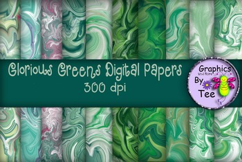Glorious Greens Hurricane Papers
