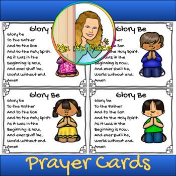 Glory Be Prayer Card