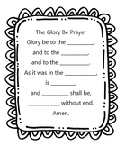 Glory Be Prayer Worksheet