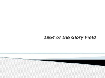 Glory Field 1964 Discussion Questions