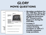 Glory Movie Questions - US History/APUSH