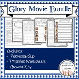 Glory Movie Questions and Worksheets Bundle