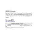 Glory Parent Permission Letter