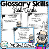 Glossary Skills Task Cards