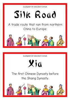Glossary of Ancient China