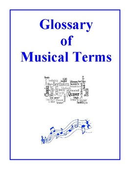 Glossary of Musical Terms