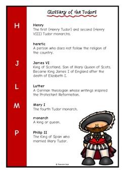 Glossary of the Tudors