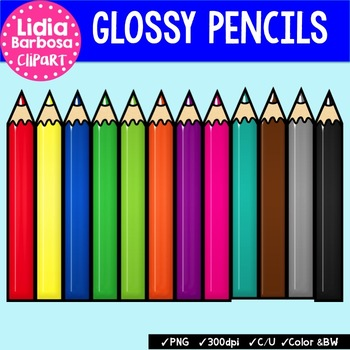 Glossy Color Pencils