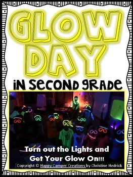 Glow Day in Second Grade