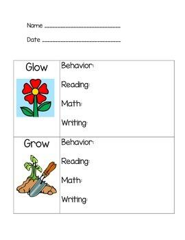 Glow Grow Form