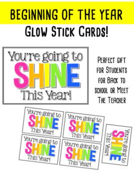 Glow Stick Cards