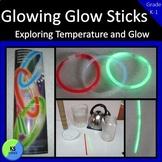 Glow Stick Light Experiment   Grade K 1 2 Halloween Science Activity