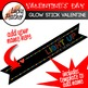 Glow Stick Valentine's Day Tags