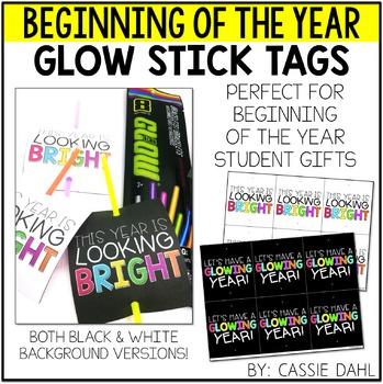 Glow Stick Tags
