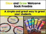 Glow and Grow Back to School Freebie