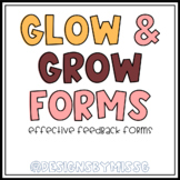 Glow and Grow Effective Feedback Forms