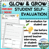 Glow and Grow - Goal Setting and Student Reflection Sheet