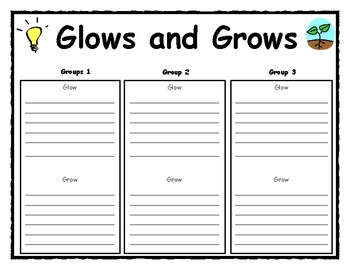 Glow and Grows Organizer