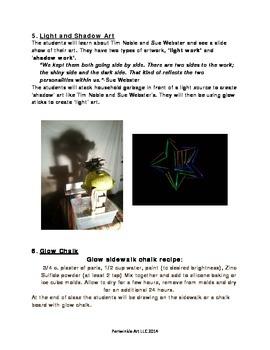 Glow in the Dark Art Lesson Plan
