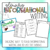 Glowing Informational Writing