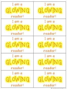 Glowing and Sparkling Reader Tags