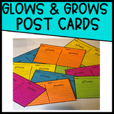 Glows and Grows Postcards